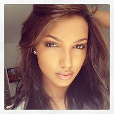 jasmine tookes lovely makeup and hair for more golden skin