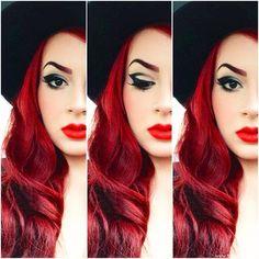 Dramatic Liner & HAIR & Lip Color!!!