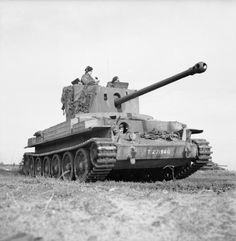 Challenger tank of 15/19th Hussars, 11th Armoured Division, The Netherlands, 17 October 1944.