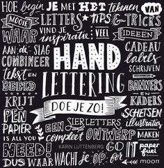 Handlettering in je bullet journal - Bullet Journal Maken Art Books For Kids, My Books, Handlettering For Beginners, Sketch Paper, Doodles, Alphabet, Banner Images, Holiday Signs, Write It Down