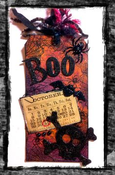 For One Moment: Tim Holtz - 12 Tags of 2012