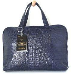 Beautiful Crocodile Skin Handbag  http://Handbags.com