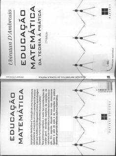 Educação Matemática: da teoria a prática - UBIRANTAN D'AMBROSIO Personalized Items, Livros