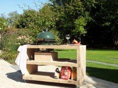 de Steigeraar :: Big Green Egg meubel