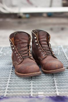 Red Wing Iron Ranger Boot- These boots are almost two years old, though you would never know it. Though their treks through the mud  hiking trails have been rather minimal Red Wing really lives up the hype with these, solid construction, soft leather, rugged look. A great pair of boots