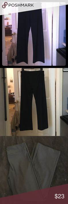 Marika Weekend Dry Wik Flared Yoga Pants XL Black Worn once, perfect condition!  Product Details These soft women's Marika yoga pants feature a slightly flared leg opening and Dry Wik fabric for comfort and flexibility.  Black XL  Moisture-wicking performance technology COOLMAX gusset lining FIT & SIZING Short: 29-in. inseam Average: 32-in. inseam Long: 34-in. inseam Midrise sits above the hip Fitted through the thighs Slightly flared leg opening Wide elastic waistband FABRIC & CARE…