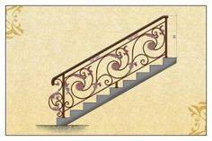 Gambar Pintu Pagar Gerbang Railing Balkon Tangga Besi Tempa Klasik Stairs, Gate Design, Model, Cooking Recipes, David, Projects, Home Decor, House, Art