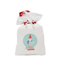 Now you don't have to worry about wrapping presents Santa can just pop them all in to your very own personalised sack. Which is great for the environment as no wrapping paper to waste and can be used every year. Made from 100% heavy cotton drill each sack is handmade in Melbourne, Australia. All are complimented with a red cotton drill trim and draws in with a large cotton rope. Hang on the door at the end of the bed or on the fireplace, with additional Velcro finish for easy open and cl...