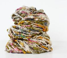 Now, that is some gorgeous yarn. What would you make with it?