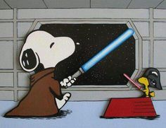 Snoopy Star Wars