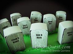 Qbee's Quest: Hershey's Frankenstein, Mummy & Grave Stones