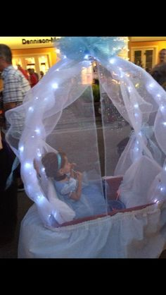 Stroller Costume Cinderella Carriage And Cinderella On