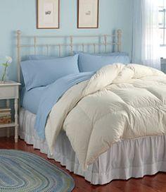 #LLBean: Permabaffle Box Goose Down Comforter, Warm