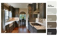 Gray Kitchen   Paint colors from Chip It! by Sherwin-Williams