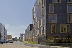 23 Social Housing In Bethune, France By Fres Architectes