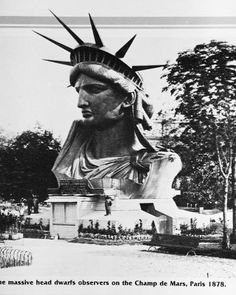 """Lady Liberty"" in Paris (before being shipped to U.S.A.)"
