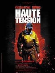 Haute Tension (Switchblade Romance/ High Tension) Cast: Cecile de France, Maiwenn, Phillip Nahon Director: Alexandre Aja Nutshell: easily the most ferociously tense slasher-terror ride in years - a classic! Jeremy Sisto, Haute Tension, High Tension, Robert Englund, Horror Movie Posters, Horror Films, Horror Art, Scary Movies, Good Movies