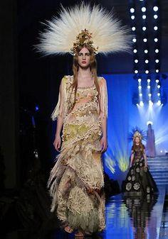 Défilé Jean Paul Gaultier Printemps-été 2007 Haute couture | Le Figaro Madame