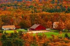 Princeton, Massachusetts, US - 18 Fascinating Photos of Places in the Amazing Autumn