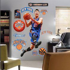 Fathead Jeremy Lin New York Knicks New Player Wall Graphics - $75.04