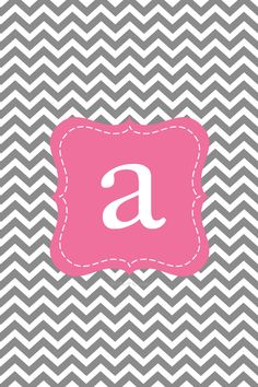 "Letter ""a"" wallpaper"