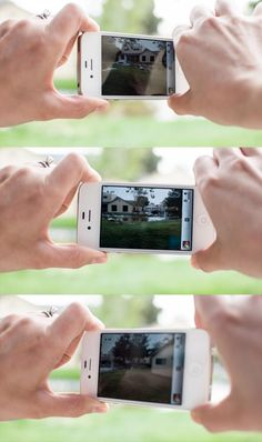 Taking panorama pictures with iPhone