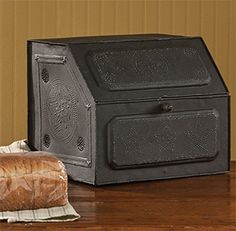 Antique Replica of Tin Bread Box/desk Storage 21-190 Park Designs http://www.amazon.com/dp/B00OVA6POK/ref=cm_sw_r_pi_dp_9Dq-wb1WR0NBE  4 each