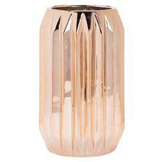 Living & Co Vase Geo Copper 14cm x 23cm