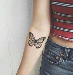 7c886dc8345e6 Tattoo butterfly papillons wings 62+ Ideas for 2019 #tattoo Bad Tattoos,  Mini Tattoos