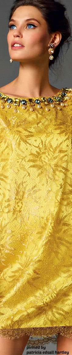 Bianca Balti, Yellow Orchid, Italian Models, Mellow Yellow, Bright Yellow, Yellow Fashion, Shades Of Yellow, Lemon Yellow, Fashion Photography
