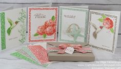 Crafts Bouquet: Stampin' UP! Picture Perfect Card Set and Gift Box