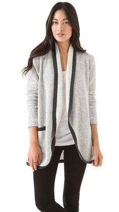 Open Cardigan by Three Dots