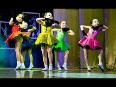 Красивый детский танец. Отчётный танец хореографического коллектива. - YouTube