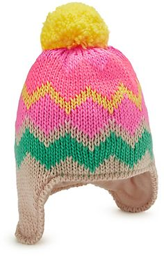 769372e203c Bobble Chunky Trapper Hat (Younger Girls) - ShopStyle Misc