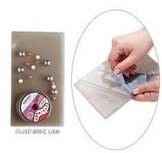 Rubber beading mat is made of a special thermoplastic rubber material, so that beads, findings and all small components will adhere to surface.   #diyjewelry #beading #diyjewerlymaking