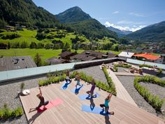 Design Hotel, Wellness Hotel Tirol, Resorts, Techno, Sky Pool, Das Hotel, Yoga, Outdoor, Vacation