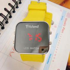 Kpop F.T.Island  fashion LED watch