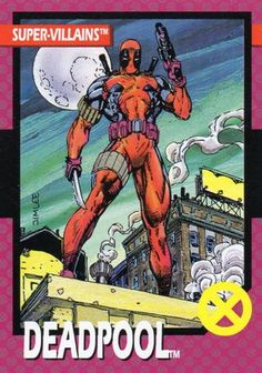 1992 X-Men - Lilandra & Deadpool By Jim Lee, in Ryan Humphreys's Comic Card Art Comic Art Gallery Room Marvel Comics Art, Marvel Comic Universe, Marvel Heroes, Dc Universe, Marvel Dc, X Men, Deadpool Toys, Deadpool Stuff, Spiderman
