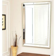 abbyson living ariel rectangle wall mirror overstock shopping great deals on abbyson living mirrors