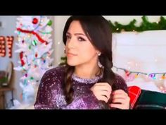 Easy Holiday Hairstyles - YouTube