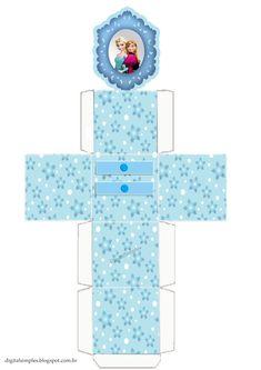 """Kit Digital Aniversário """"Frozen Disney-Uma aventura congelante"""" com rótulos para…"""