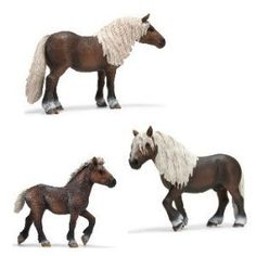 schleich family horse | Schleich Black Forest Horse Family: Amazon.co.uk: Toys & Games