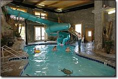 Riverchase Motel in Pigeon Forge, Tennessee - water slide
