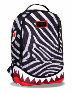 Sprayground Zebra DLX Backpack