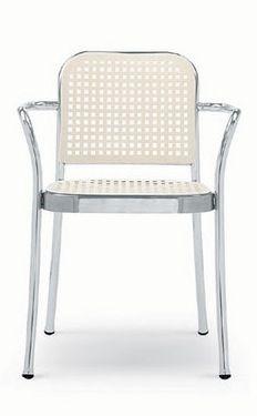 Vico Magistretti Silver Chair