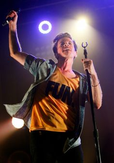 Nate Ruess of fun. : Entertainment