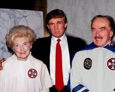 "Trump Family KKK Photo Scandal -- There was outrage across America as a family photo of the Trump family emerged with both Donald Trump's father and mother dressed from head to toe in KKK robes. The Ku Klux Klan were quick to dismiss the photograph as a hoax with a spokesbigot telling us; ""It's obviously a... -- #KKK, #KuKluxKlan, #Trump -- http://wp.me/p7GOKB-1GF"