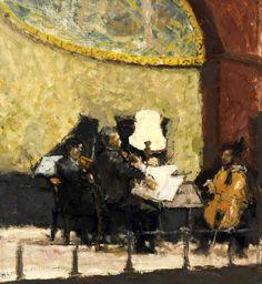 birdcagewalk:  bofransson:Bernard Dunstan, R.A. (b. 1920)The Wigmore Hall