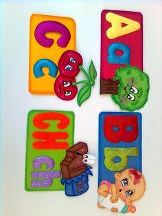 ABECEDARIO EN FOMI Preschool Learning Activities, Crafts To Make, Origami, Alphabet, Lily, Paper Crafts, How To Make, Google, Gross Motor Skills