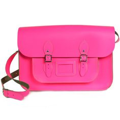 "Satchel 14"" Neon Pink, 110€, now featured on Fab."